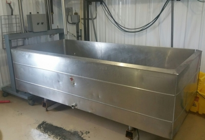 UNKNOWN Cheese Vat/Bulk Tank Conversion