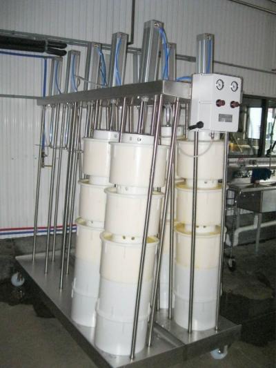 KADOVA Cheese Molds - 28LB Wheel