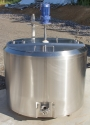 DAIRY HERITAGE 200 Gal Round Combo Cheese Vat / Vat Pasteurizer